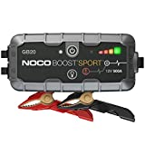 NOCO Boost Sport GB20 500A 12V UltraSafe Starthilfe Powerbank,...