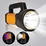 MAYTHANK Extrem helle Wiederaufladbare Taschenlampe Led Batterien...