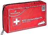 WALSER 44264 KFZ Verbandskasten rot nach DIN 13164, Erste-Hilfe Set...