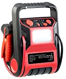 REVOLT Powerpack Starthilfe: 5in1-Starthilfe-Powerbank & Kompressor,...