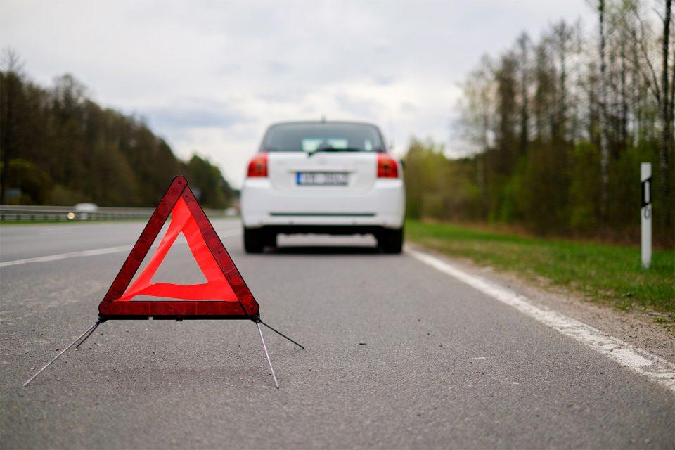 Autopanne was tun - Auto sicher verlassen